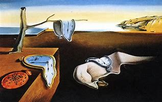 Image result for images of the persistence of memory
