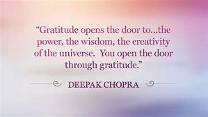 Image result for gratitide meme deepak chopra